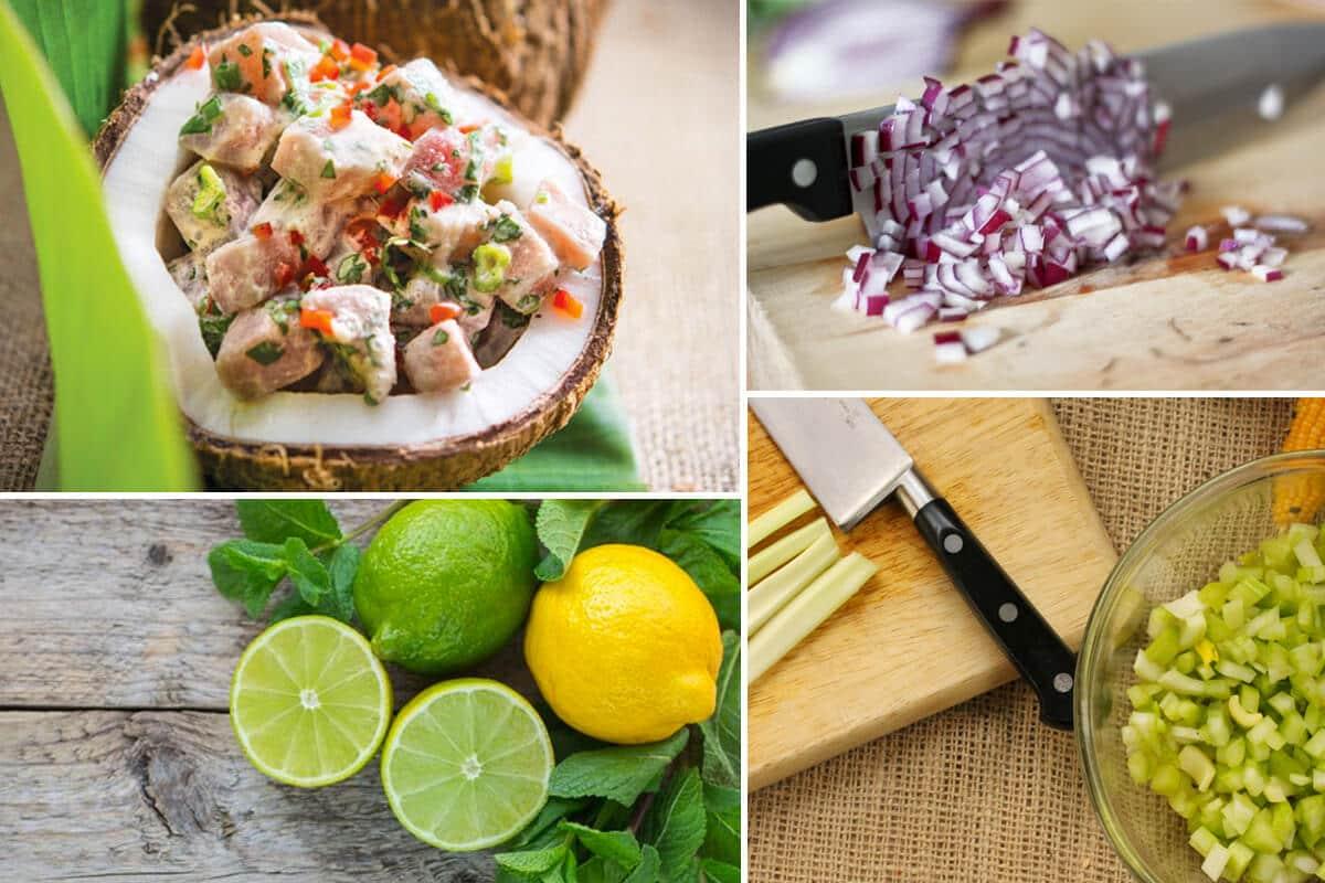 Mango Coconut Ceviche Recipe