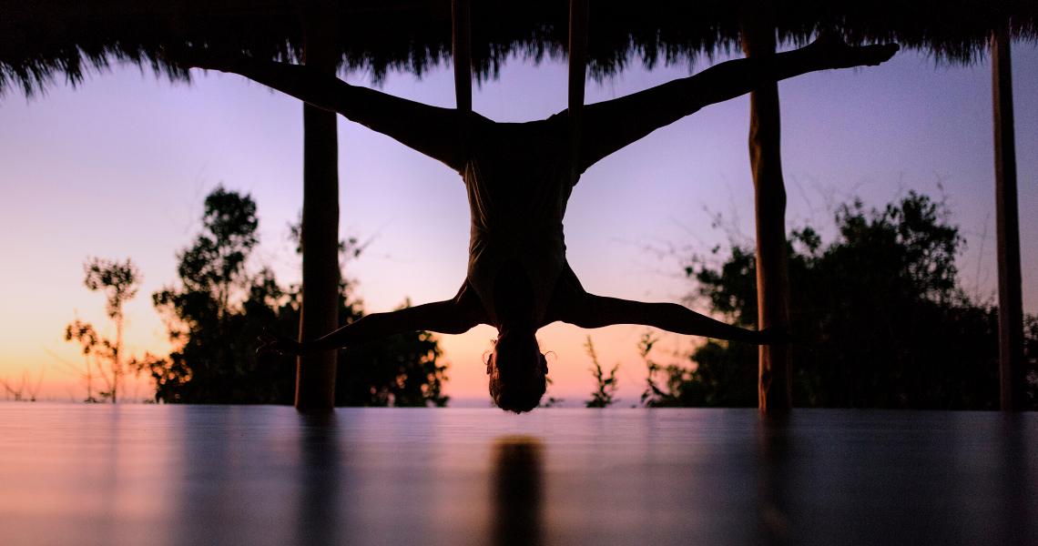 Live Your Dash Aerial Yoga Retreat