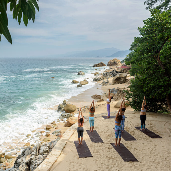 Morning Beach Flow Yoga Class