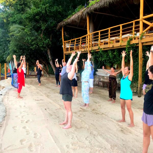 Morning Practice (Nia, Tai Chi class)