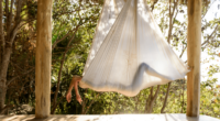 5 reasons why your next yoga retreat should include aerial yoga classes