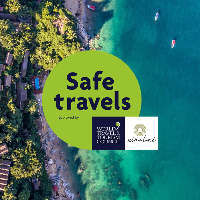 "Xinalani achieves ""Safe Travels"" stamp by meeting global health and safety standards"