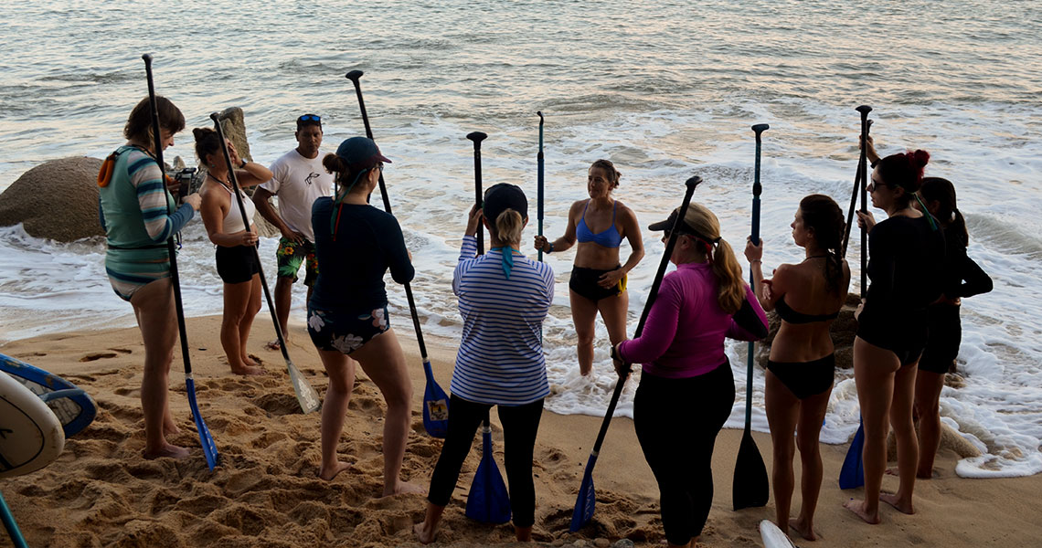 Stand Up Paddle (SUP) & Yoga Immersion