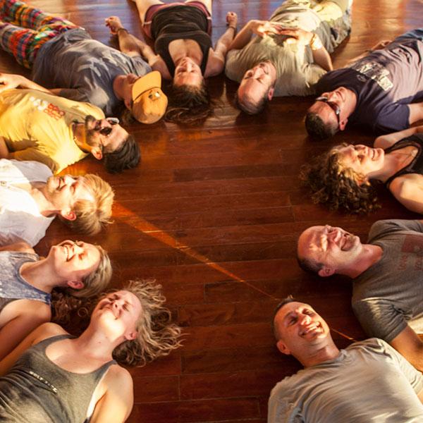 Aerial Yoga, AcroYoga, Laughter Yoga, Budokon, slacklines