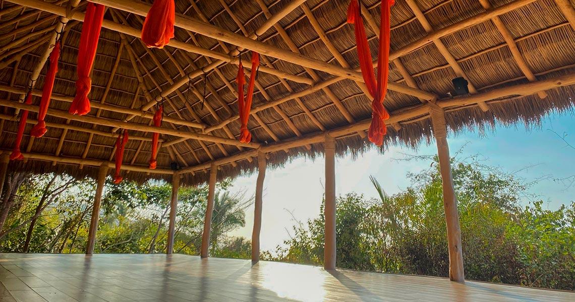 Aerial Yoga / Hot Yoga Retreat