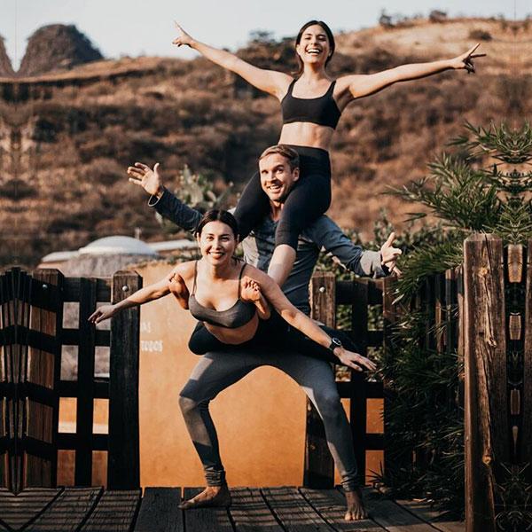 Acro yoga y talleres