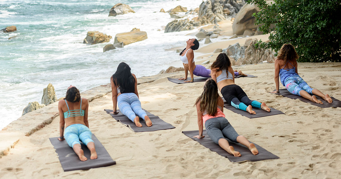 Yoga in Nature's Beauty: Receive, Relax, Restore
