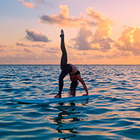 Women's SUP & Yoga Adventure Retreat