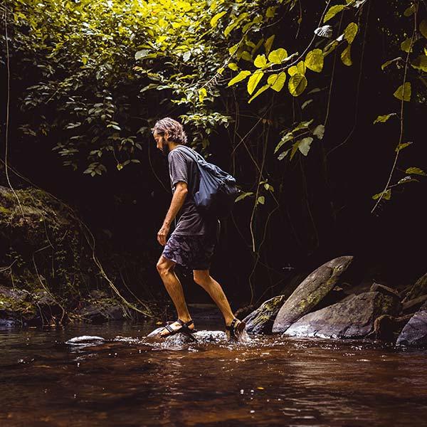 Kayaking or Hiking